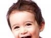 Smiling toddler boy