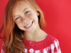 Cute redheaded child