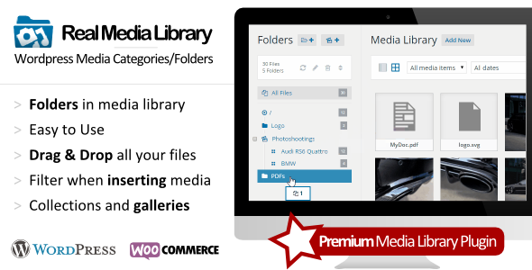 WP Real Media Library on CodeCanyon